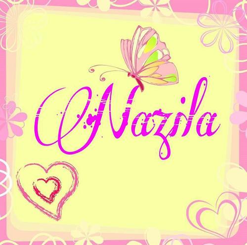 عکس نوشته نازیلا