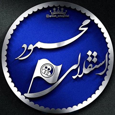 عکس پروفایل محمود استقلالی