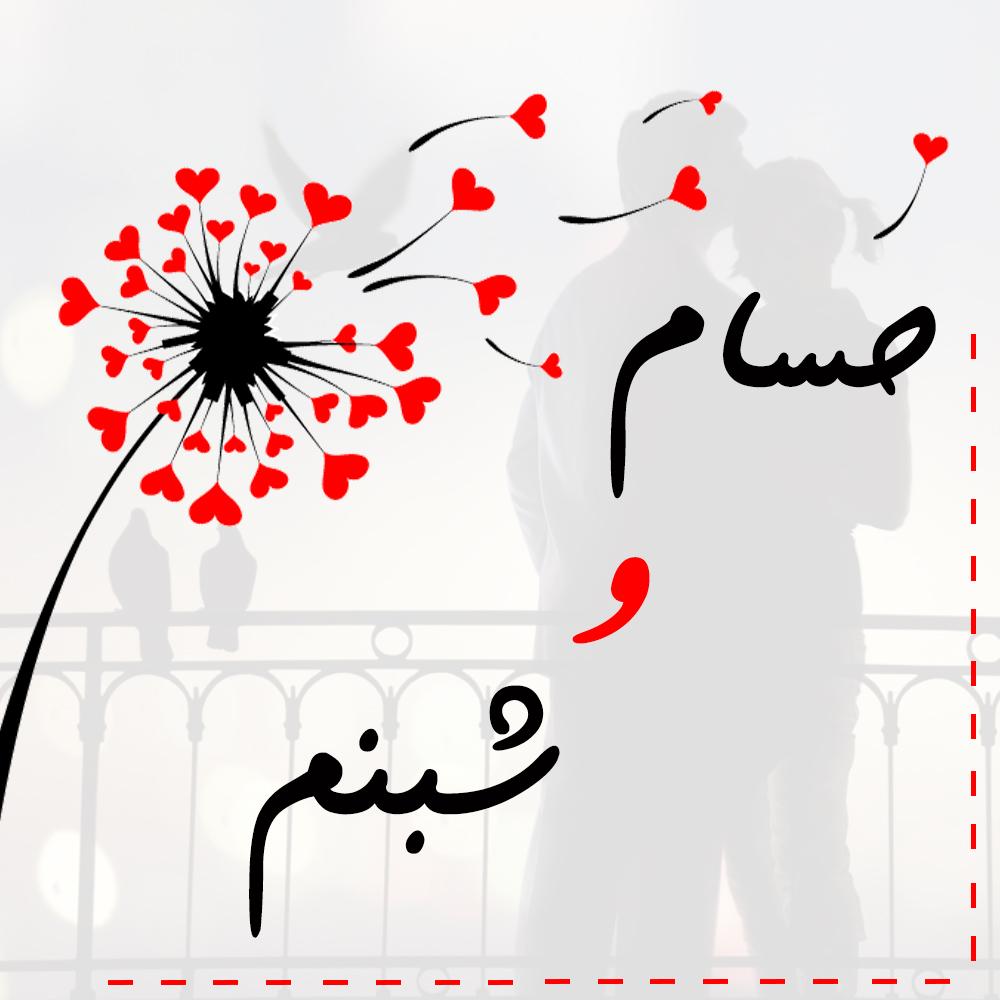 عکس پروفایل واتساپ حسام و شبنم