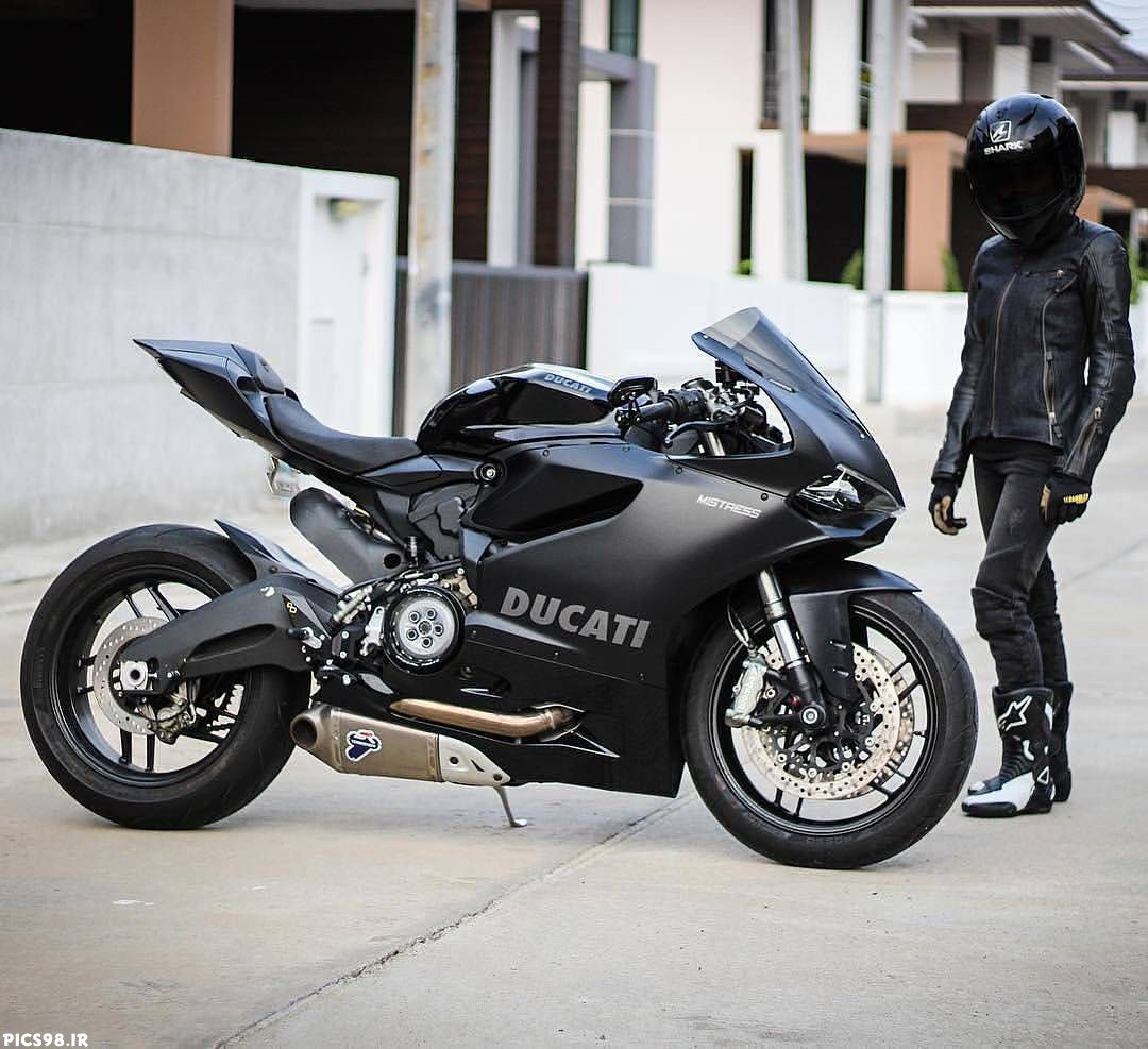 عکس پروفایل پسر موتورسوار