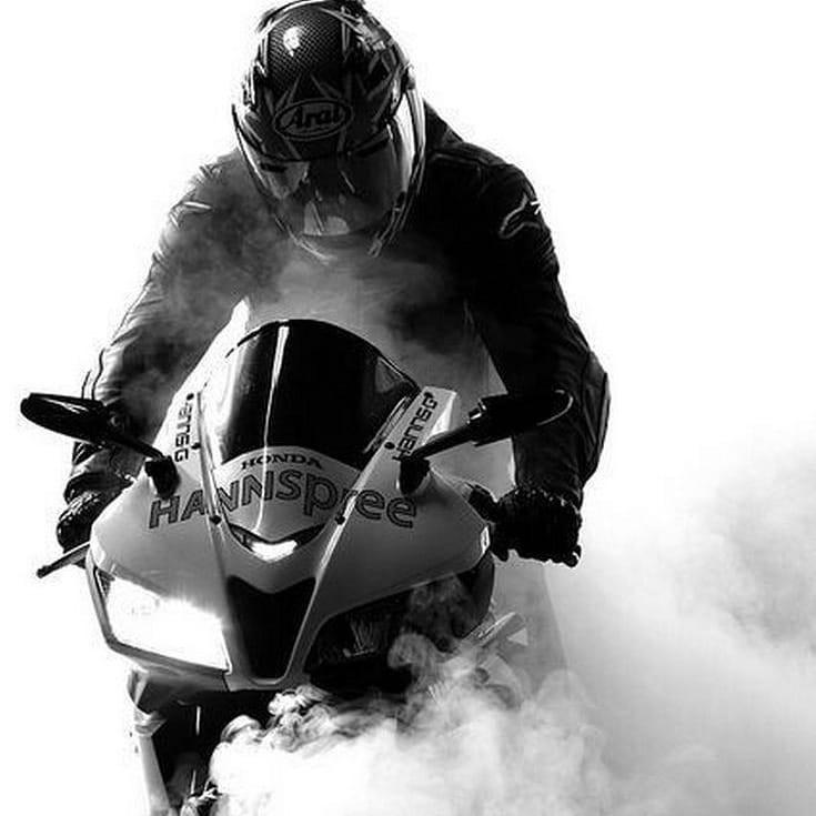 موتور در دود