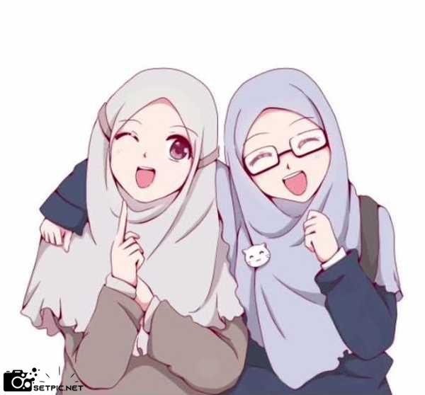 عکس پروفایل دخترونه رفاقت با حجاب
